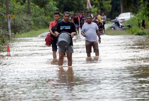 Banjir di Pontian pulih sepenuhnya