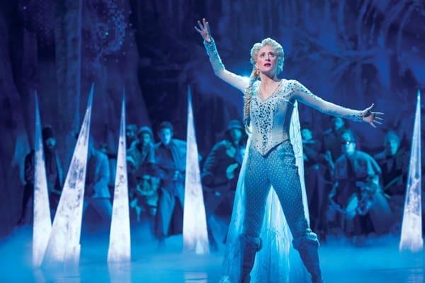 Muzikal Frozen dipentaskan di Sydney
