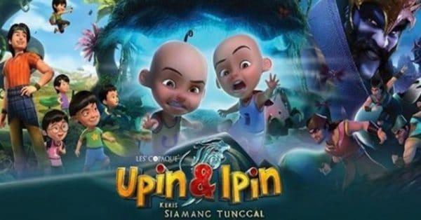 Upin & Ipin: Keris Siamang Tunggal hasil buku filem animasi pertama