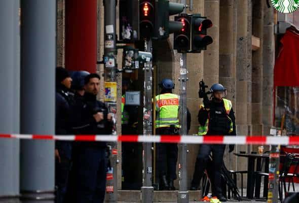 Polis Jerman berjaga-jaga selepas insiden rompakan, tembakan di Berlin