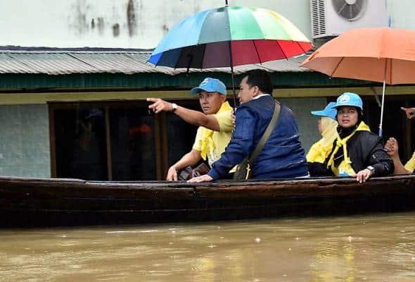 13 daerah di Narathiwat dilanda banjir