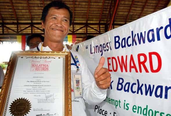 Edward bakal naik Gunung Kinabalu secara undur, kumpul dana kebajikan