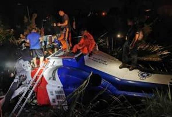 Siasatan helikopter PDRM terhempas di Tawau