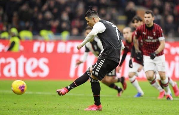 Penalti Ronaldo bantu Juve ikat Milan