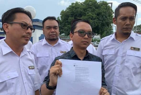 Pemuda UMNO Perak buat laporan polis terhadap posting FB portal berita