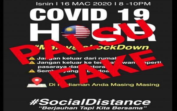 Dr Adham nafi infografik tular 'lockdown' esok