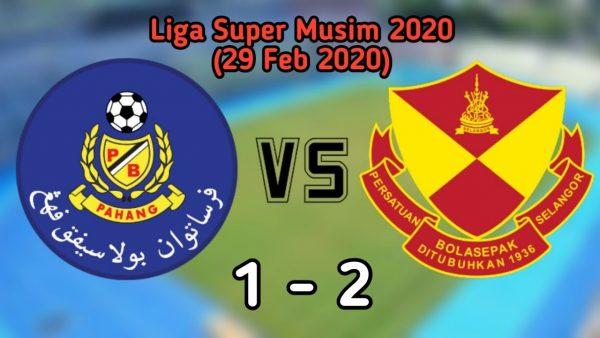 Selangor menundukan Pahang