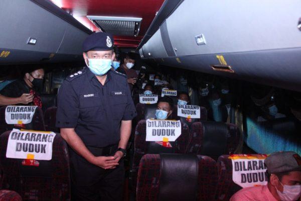 1,272 Anggota Polis Kota Kinabalu Bertugas Pantau Pematuhan SOP Aidilfitri