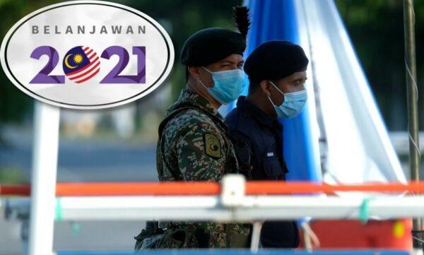 Belanjawan 2021: Mindef, KDN masing-masing terima RM16 bilion dan RM17 bilion