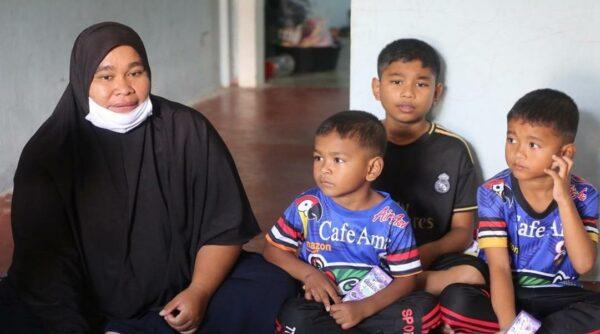 Tiga beradik warga Malaysia terkandas di Thailand