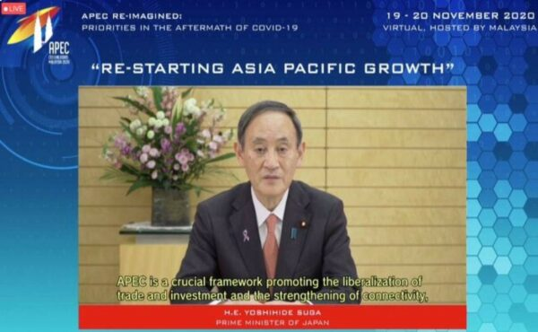 Jepun sedia ketuai bangunkan Indo-Pasifik yang bebas dan terbuka, kata PM