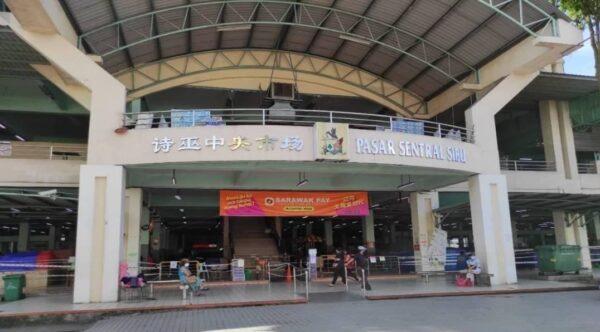 Penduduk tidak tahu Pasar Sentral Sibu ditutup angkara COVID