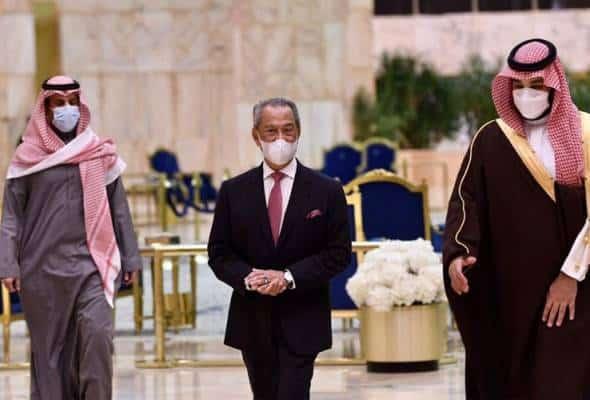 Lawatan Muhyiddin lonjak hubungan Riyadh-KL ke tahap lebih kukuh