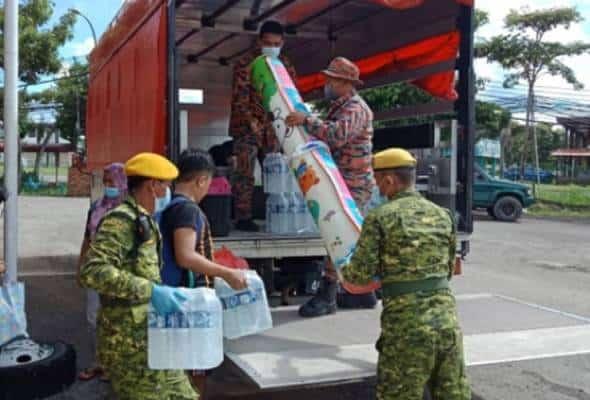 Mangsa banjir di Sabah dibenarkan pulang