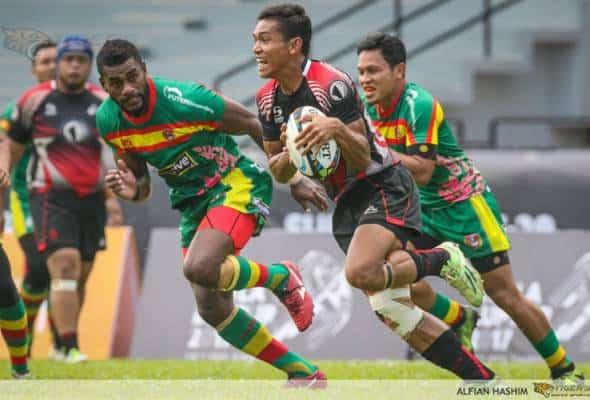 PKP: Kejohanan Ragbi 7s Kebangsaan, Piala Agong tangguh