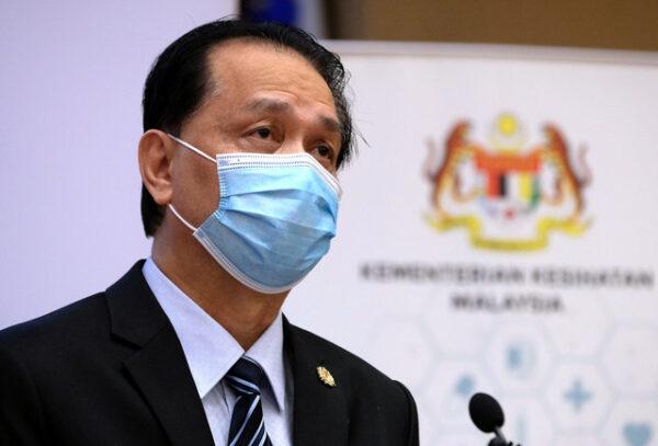 Malaysia rekod 3,780 kes COVID baharu semalam