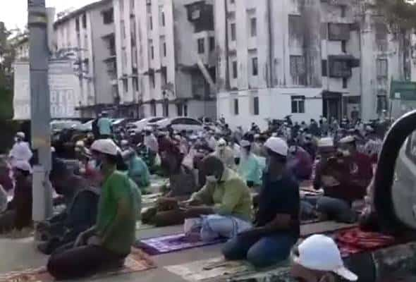 Jemaah surau Taman Pelangi dakwa warga asing datang dari kawasan berhampiran