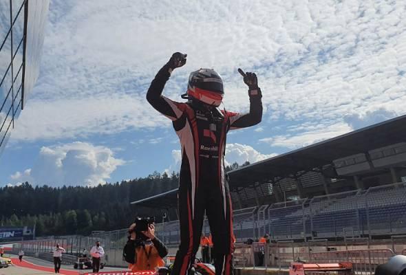 Nazim catat kemenangan pertamanya dalam EuroFormula Open di Austria