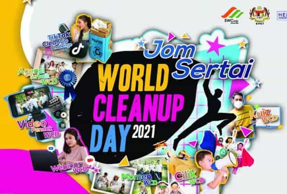 KPKT jangka kutipan 20,000 kilogram sisa pepejal melalui program 'World Cleanup Day'