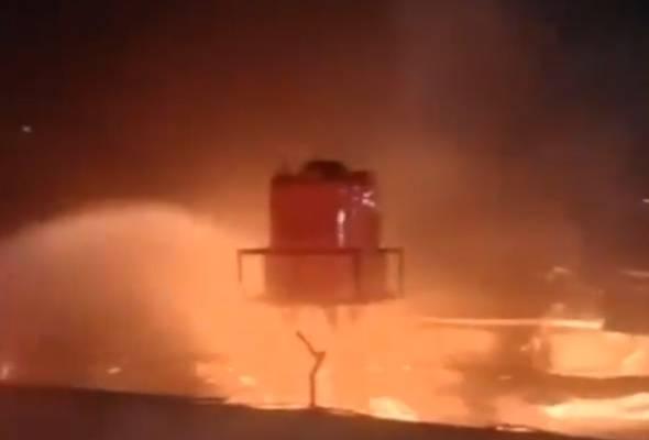 Lebih 40 maut dalam kebakaran di penjara di Tangerang, Indonesia