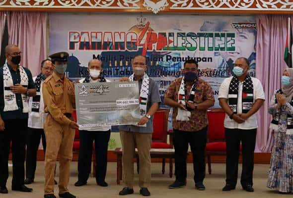 Pahang sumbang RM700,000 kepada rakyat Palestin