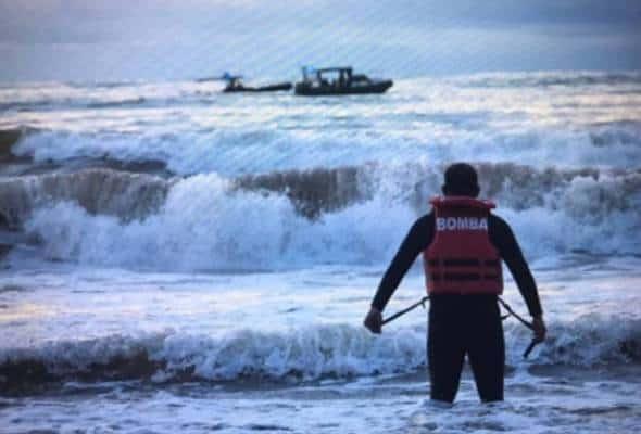Mayat remaja lelaki ditemukan di pantai Sungai Miri